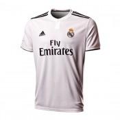 Camisola adidas Real Madrid Primera Equipación LFP 2018-2019 Branco-Preto  Portugal 8ffccfce14cf5