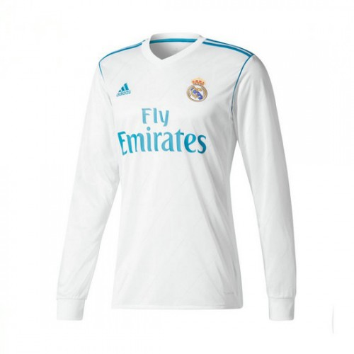 Camisola adidas Real Madrid Principal m l 2017-2018 Branco-Vivid teal Mais  barato 16c022594fecb