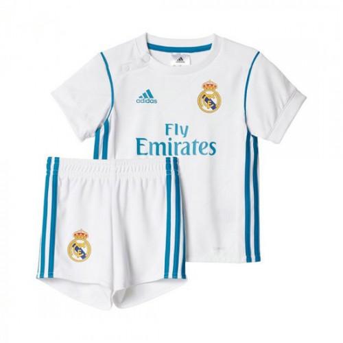 9b443d44ee121 Conjunto adidas Bebe Real Madrid Principal 2017-2018 Branco-Vivid teal  Preço Portugal