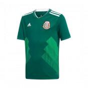 9ec54a1cd Site de Camisola adidas Mexico Equipamento Principal 2017-2018 Crianças  Collegiate Verde-Branco