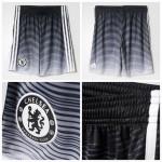 Chelsea 2015 2016 Third Futebol Curtos