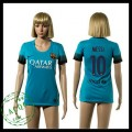 Barcelona Camisa Futebol Messi 2015/2016 Iii Feminina