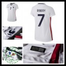 Camisa Du Futebol (7 Ribery) França Autêntico Ii Euro 2016 Feminina