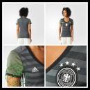 Camisa Futebol Alemanha Autêntico Ii Euro 2016 Feminina