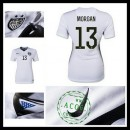 Camisas Futebol Estados Unidos (13 Morgan) 2015 2016 I Feminina