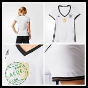 Camisas Futebol Alemanha Autêntico I Euro 2016 Feminina 02f7f9e7ebee6
