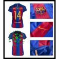 Onde Comprar Uniformes De Futebol Mascherano Barcelona Feminina 2016 2017 I Loja On-Line