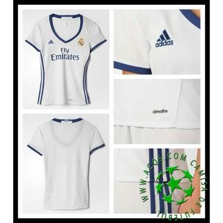 Camisas Du Futebol Real Madrid 2016-2017 I Feminina