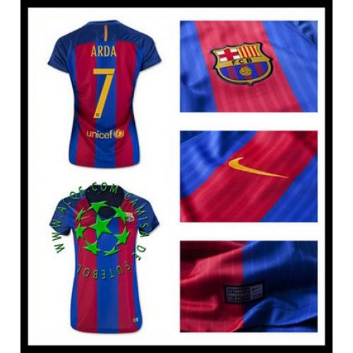 8cf3a6069a108 A Partir De Venda Camisas Futebol Arda Barcelona Feminina 2016-2017 I Loja  On-Line