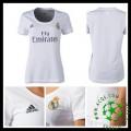 Camisa Du Futebol Real Madrid 2015 2016 I Feminina