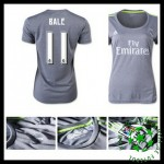 Camisa Real Madrid (11 Bale) 2015-2016 Ii Feminina