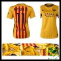 Camisa Futebol Barcelona (11 Neymar Jr) 2015/2016 Ii Feminina