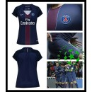 Camisa Paris Saint Germain 2016 2017 I Feminina