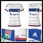 Camisa De Futebol Olympique Lyonnais 2015-2016 I Feminina