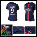 Uniforme De Futebol Paris Saint Germain Cavani 2015 2016 I Feminina
