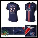 Camisas Futebol Paris Saint Germain Pastore 2015 2016 I Feminina