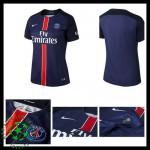 Camisa Du Futebol Paris Saint Germain 2015-2016 I Feminina