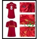 Camisas Futebol Liverpool Gerrard 2016/2017 I Feminina