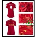 Camisa Du Futebol Liverpool Benteke 2016/2017 I Feminina