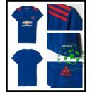 Camisas De Futebol Manchester United 2016/2017 Ii Feminina
