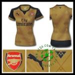Camisas Futebol Arsenal 2015/2016 Ii Feminina