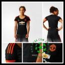 Camisa De Futebol Manchester United 2015-2016 Iii Feminina