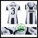 Local Uniformes De Futebol Chiellini Juventus Feminina 2016/2017 I Online Store