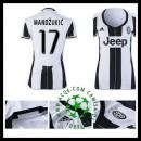Loja Uniforme Futebol Mandzukic Juventus Feminina 2016-2017 I Loja On-Line