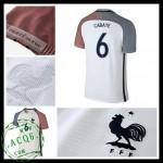 Camisas Futebol França Cabaye Euro 2016/2017 Ii Masculina