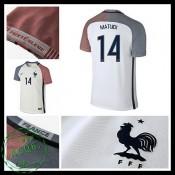 Camisa Futebol França Matuidi Euro 2016/2017 Ii Masculina