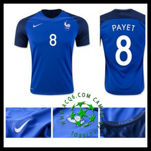 Comprar Camisa Futebol Payet França Masculina 2016 2017 I Online Store 02120929716ba
