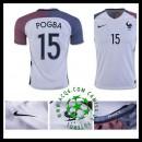 Jogo Camisas Futebol Pogba França Masculina 2016 2017 Ii Loja On-Line