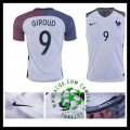 Criação Camisa Futebol Giroud França Masculina 2016-2017 Ii Loja On-Line