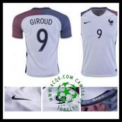 Criação Camisa Futebol Giroud França Masculina 2016-2017 Ii Loja On-Line 90e57e8aea49f