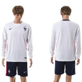França Camisa Futebol Manga Longa 2015/2016 Ii Masculina