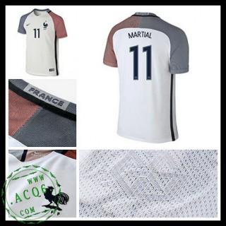 Camisa Futebol França Martial Euro 2016/2017 Ii Masculina