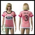 Juventus Camisa Du Futebol Chiellini 2015 2016 Ii Feminina