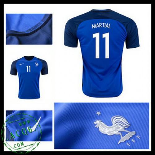 3e47c53617 Camisas Futebol França Martial Euro 2016 2017 I Masculina ...