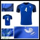 Camisas França Varane Euro 2016/2017 I Masculina