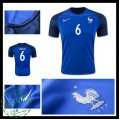 Camisas Du Futebol França Cabaye Euro 2016/2017 I Masculina
