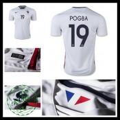Camisa Futebol (19 Pogba) França Autêntico Ii Euro 2016 Masculina