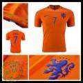 Camisas Futebol Holanda Memphis 2016 2017 I Masculina