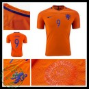 Camisa Du Futebol Holanda V. Persie 2016/2017 I Masculina