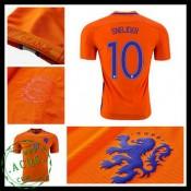 Camisas Du Futebol Holanda Sneijder 2016-2017 I Masculina