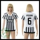 Juventus Camisas De Futebol Pogba 2015 2016 I Feminina