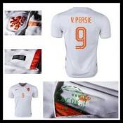 Uniforme De Futebol Holanda (9 V.Persie) 2015 2016 Ii Masculina