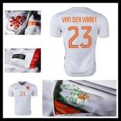 Uniformes De Futebol Holanda (23 Van Der Vaart) 2015-2016 Ii Masculina