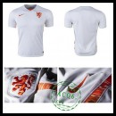Camisa De Futebol Holanda 2015-2016 Ii Masculina