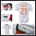 Camisas Futebol Holanda (21 Memphis) 2015 2016 Ii Masculina
