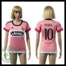 Juventus Camisas Futebol Pogba 2015/2016 Ii Feminina